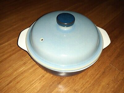 Denby - Blue Jetty - Casserole Dish With Lid • 10£
