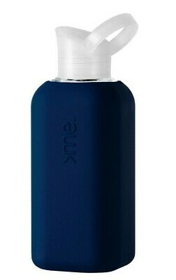 Squireme Glass Bottle With Silicone Sleeve - Navy • 10£