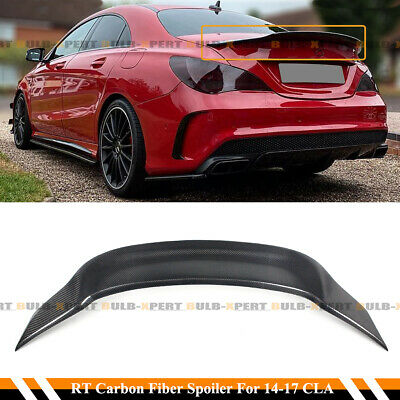 $169.99 • Buy For 14-19 Mercedes Cla250 Cla45 Amg W117 R Style Carbon Fiber Trunk Spoiler Wing