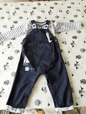 Cute Boys Next Dungarees 12-18 Months  • 3.20£