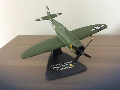 Republic P-47D Thunderbolt The Battle Of Okinawa 1945 1:72 Scale Diecast (JD323) • 8.50£