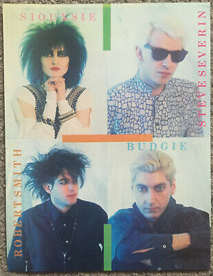 SIOUXSIE AND THE BANSHEES - 1984 Full Page UK Magazine Poster THE CURE • 3.95£