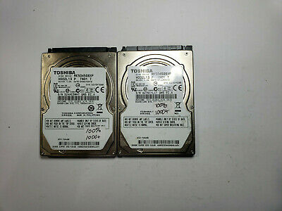 $ CDN52.79 • Buy LOT OF 2 TOSHIBA  500GB Laptop SATA Hard Drive MK5065GSXF  TESTED