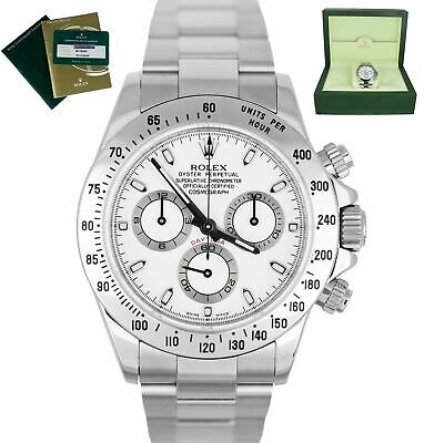 $ CDN26801.66 • Buy ROLEX SERVICE Daytona 'APH' Cosmograph 116520 White Stainless Automatic 40mm
