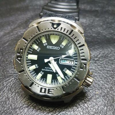 $ CDN613.36 • Buy Seiko Day Date Divers Black Monster SKX779 Custom Used Automatic Mens Watch