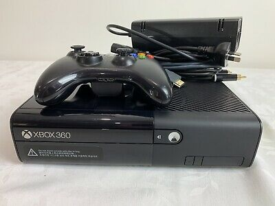 AU89.99 • Buy Microsoft Xbox 360 E Console Plus Controller & Accessories