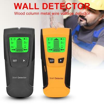 £11.49 • Buy Electric Wall Stud Center Detector Metal Pipe Wood AC Live Wire Finder Scanner