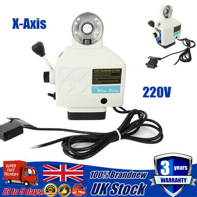X-Axis Power Feed Table Milling Fit Bridgeport Milling Powerfeed Power Feeder  • 114.80£
