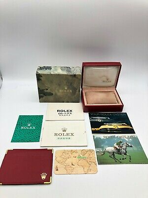 $ CDN92.26 • Buy Rolex Genuine Datejust Watch Box Case 14.00.71 Booklet Card Case 0914003