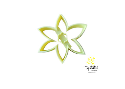 Daffodil Flower Cookie Cutter, Yellow, St David's Day, Biscuit, Baking, Playdoh • 3.75£