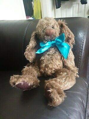 """Stunning Ganz Cottage Collectibles Jointed Teddy Bear   Danny"""" The Puppy • 35£"""