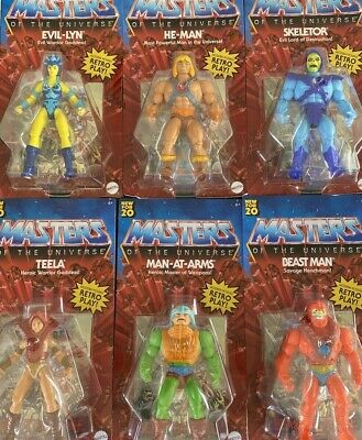 $129.99 • Buy Masters Of The Universe Origins 2020 Complete Set Of 6 He-man Skeletor Teela