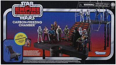 """$ CDN104.95 • Buy Star Wars Vintage 3.75"""" Figure Carbon Freezing Chamber Playset IN STOCK"""