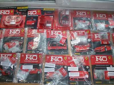 Every Issue & Parts New Panini Build The Ferrari F40 1-19 Your Own 1:8 Scale • 259.99£