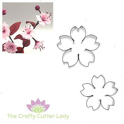 Cherry Blossom Cutter Set For Sugarcraft Flowerpaste Craft And Cake Decoration • 7.90£