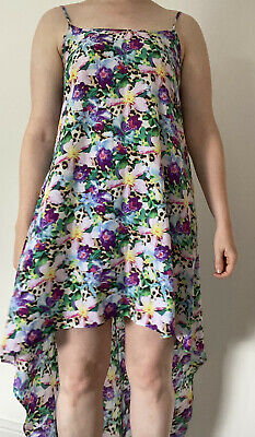 High Low Dress Floral Holiday Size M • 0.99£