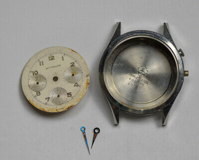 $ CDN790.91 • Buy Vintage WITTNAUER Valjoux 72 235T Stainless Chronograph Dial Case Hands PARTS