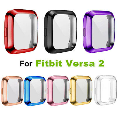 $ CDN4.69 • Buy Full Screen Protector For Fitbit Versa 2 Watch Protect Bumper Cover Case Coloful