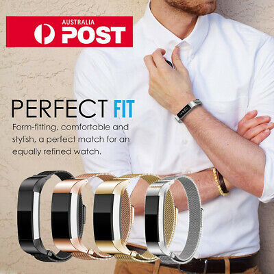 AU16.99 • Buy New Fitbit Band Replacement Magnetic Milanese Strap For Fitbit Alta HR Tracker