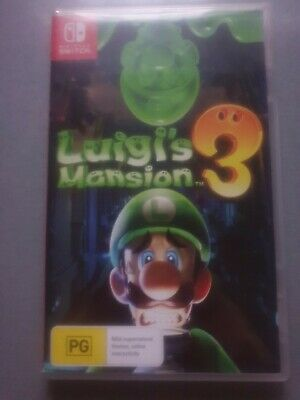AU45 • Buy Luigi's Mansion 3 Nintendo Switch