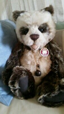 Charlie Bears WOODY CB183941 Retired Plush Open Mouthed Bear 18inch Collectable • 45£