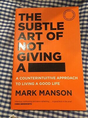 AU22.99 • Buy The Subtle Art Of Not Giving A Fck F*ck F * Ck Fuck FAST SHIPPING Book