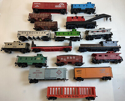 $ CDN42.67 • Buy Lot Of 17 Ho Scale Trains Vintage Freight Cars