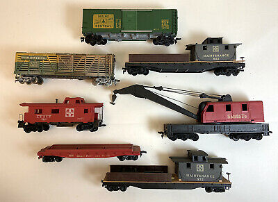 $ CDN13.33 • Buy Lot Of 7 Ho Scale Trains Vintage Freight Cars