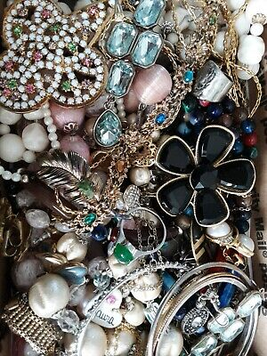 $ CDN28.34 • Buy #2 Vintage To Now Estate Find Jewelry Lot Junk Drawer Unsearched Untested Wear