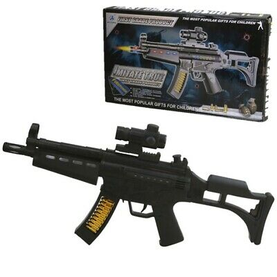 £14.99 • Buy Kids Mp5 Firepower Toy Gun With Lights & Sounds Boys Army Soldier Role Play