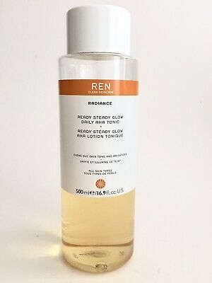 REN Clean Skincare 500ml Radiance Ready Steady Glow Tonic RRP £35 Space NK • 8.30£