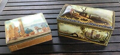 2 Vintage Sweet Tins - Pascall Sweets & Wilkin's Cremona And Red Boy Toffees • 5£