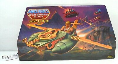 $95 • Buy MOTUC, Wind Raider, Masters Of The Universe Classics, MISB, Sealed Box, He-Man