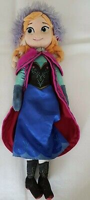 Disney Store Exclusive Princess Anna Soft Plush Doll Toy Frozen  • 12£