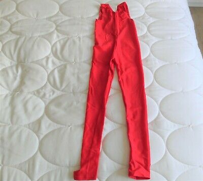 Dance Sleeveless Catsuit Red By Tappers & Pointers Size 1 New With Tags • 6.75£