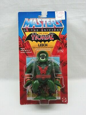 $205 • Buy MOTU,VINTAGE,LEECH,CLEAR,Masters Of The Universe,MOC,sealed,figure,He-Man,MOSC