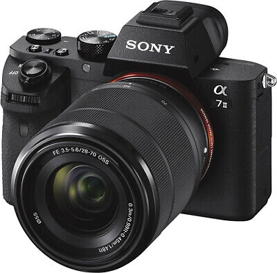 $ CDN1066.72 • Buy Sony Alpha A7II 24.3MP Mirrorless Camera -with 28-70mm Lens - No Reserve!!