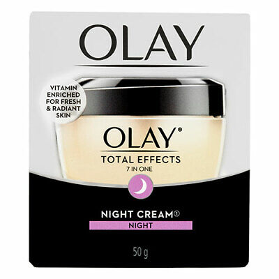 AU38.19 • Buy NEW Olay Total Effects 7 In One Night Cream Moisturiser - 50g