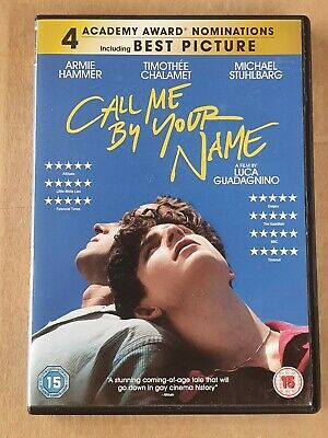 AU9.99 • Buy Call Me By Your Name - Region 2  DVD Like New