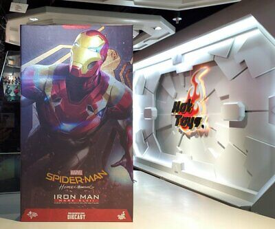 $ CDN823.09 • Buy Hot Toys 1/6 Spider Man Homecoming Iron Man Mark 47 XLVII MMS427D19 Re-issue