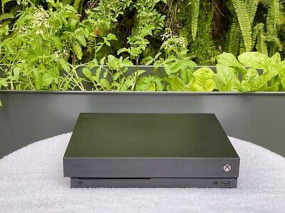 AU326.70 • Buy Microsoft Xbox One X 1TB Black Console + 2 Controller (see Description)