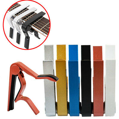$ CDN5.10 • Buy Guitar Capo Quick Change Key For Acoustic / Electric/ Classic Trigger Tune Clamp