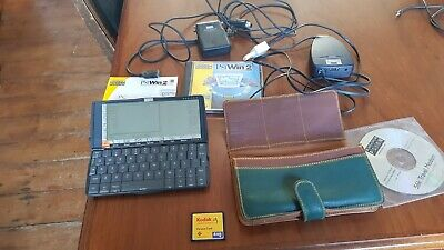 Psion Series 5 8MB PDA, Plus Printer Cable And Travel Modem. • 20£
