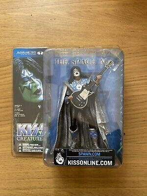 Kiss Creatures Ace Frehley - The Space Ace Figure By McFarlane Toys • 12£