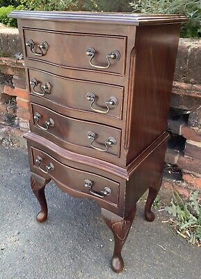 Small Vintage Georgian Style Reproduction Chest Of Drawers • 75£