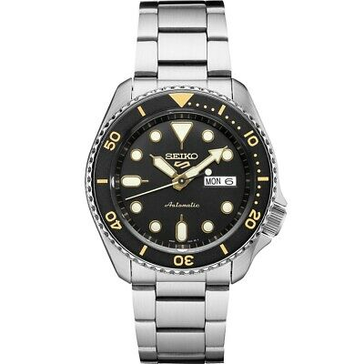 $ CDN260.67 • Buy Seiko 5 Sport Mens SRPD57 Black Dial Automatic Stainless Steel Watch New 2020