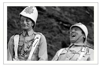 £1.89 • Buy CHARLES HAWTREY & TERRY SCOTT Signed Autograph PHOTO Gift Print CARRY ON