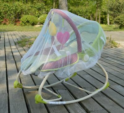 AU17.22 • Buy White Mosquito Bugs Net Mesh Cover For 4moms MamaRoo Baby Rockers Bouncers Swing