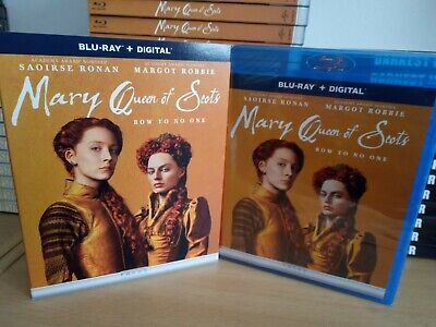 Mary Queen Of Scots Blu Ray & Digital US Release Region FREE BRAND NEW & SEALED • 6.99£