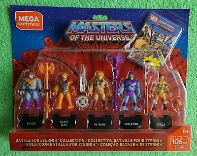 $15 • Buy Mega Construx Masters Of The Universe MOTU Battle For Eternia Collection 5-Pack